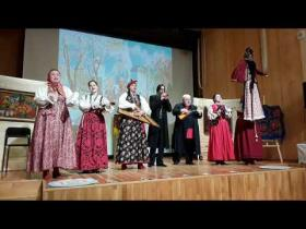 Embedded thumbnail for Масленичный концерт ансамбля «Балаган»